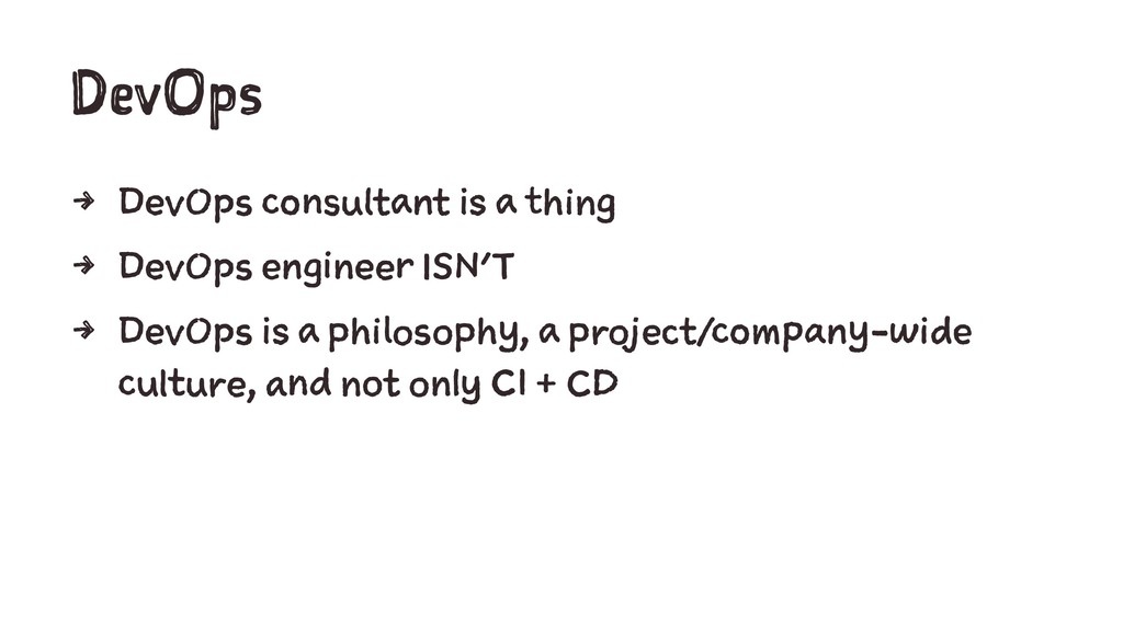 DevOps 4 DevOps consultant is a thing 4 DevOps ...