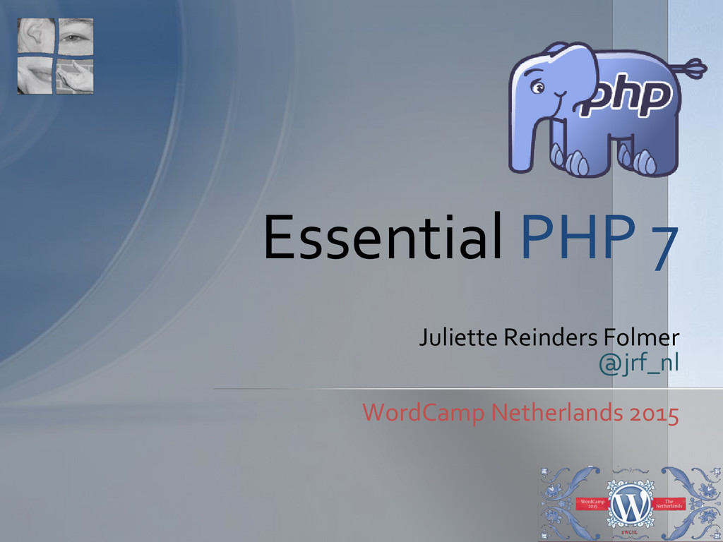 Juliette Reinders Folmer @jrf_nl WordCamp Nethe...