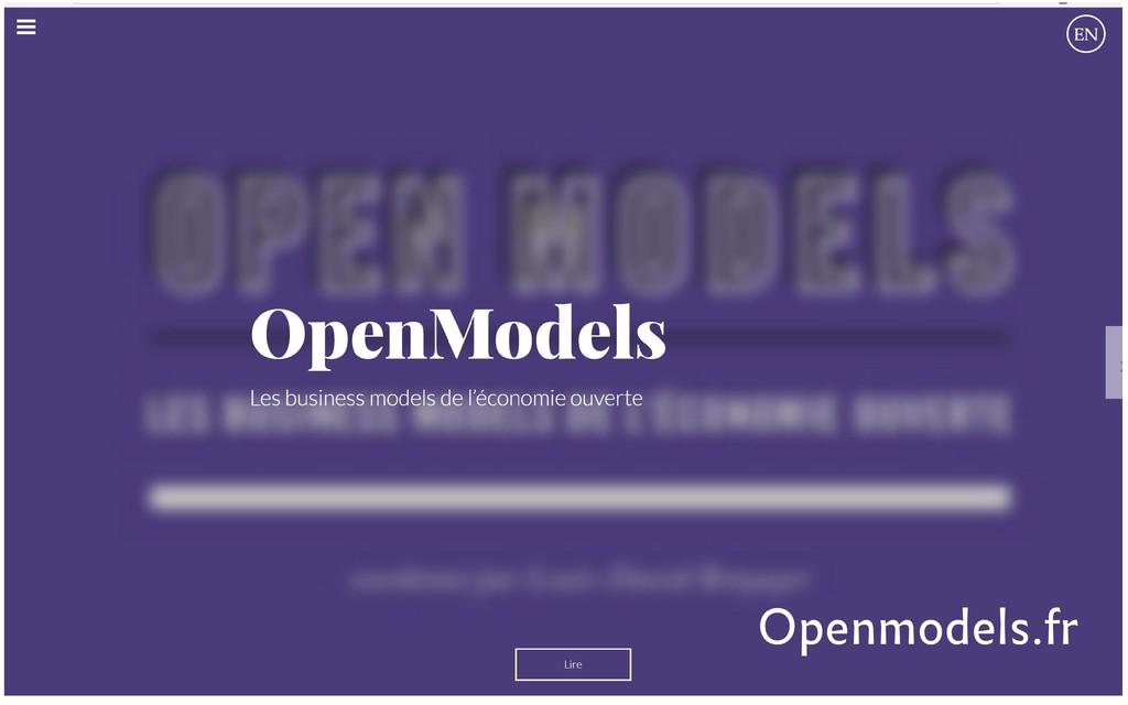 Openmodels.fr