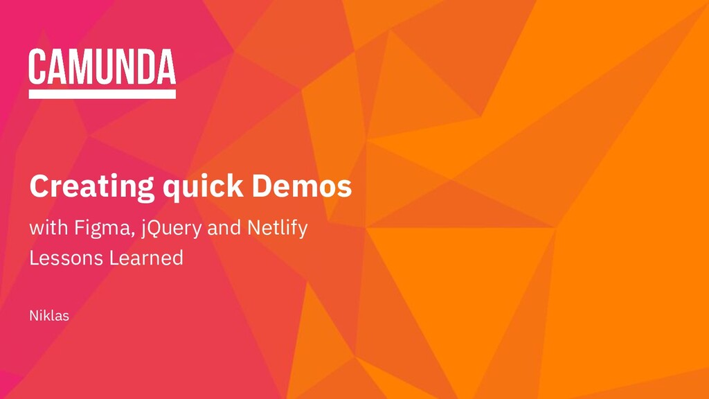 Creating quick Demos with Figma, jQuery and Net...