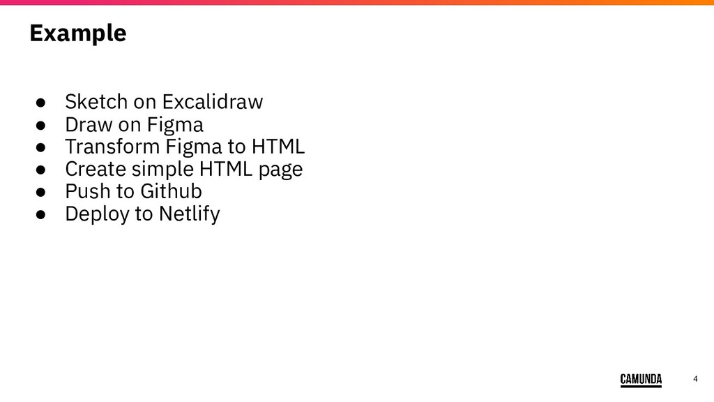 4 Example ● Sketch on Excalidraw ● Draw on Figm...