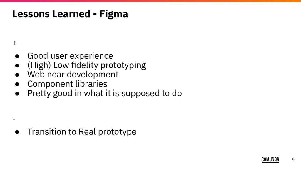 8 Lessons Learned - Figma + ● Good user experie...