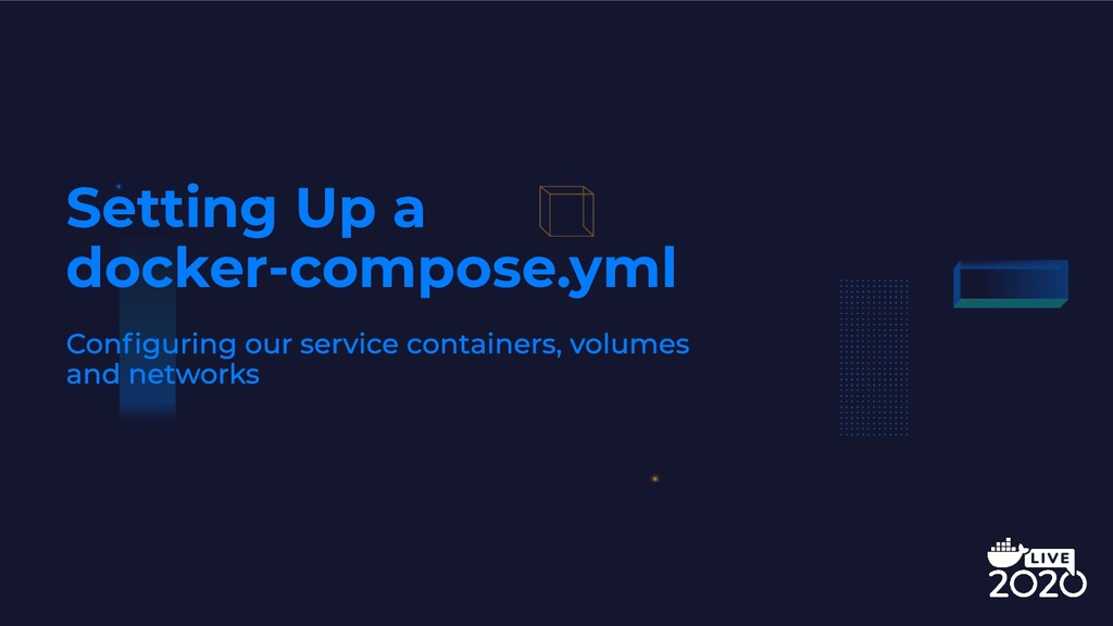 Setting Up a docker-compose.yml
