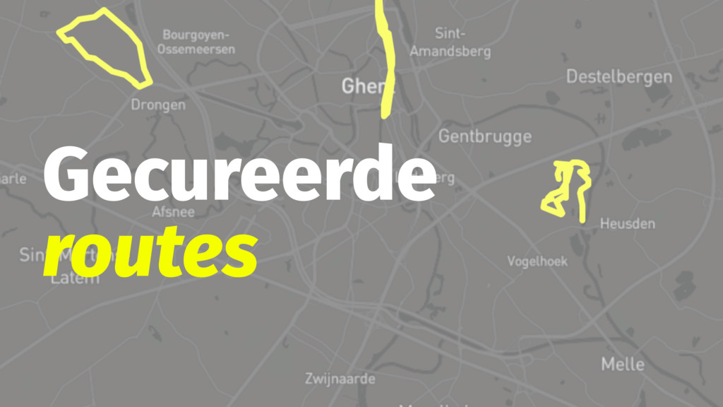 Gecureerde routes
