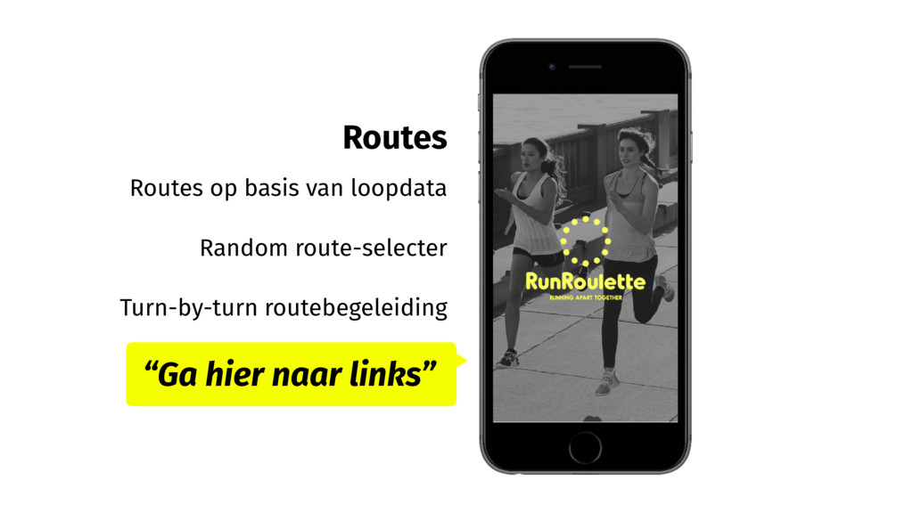 Routes Routes op basis van loopdata Random rout...