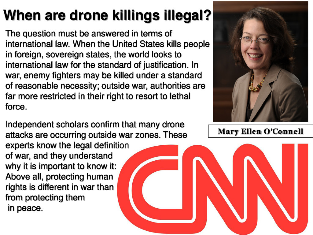 When are drone killings illegal? The question m...