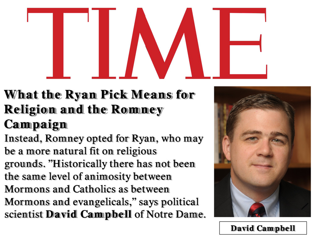 What the Ryan Pick Means for Religion and the R...