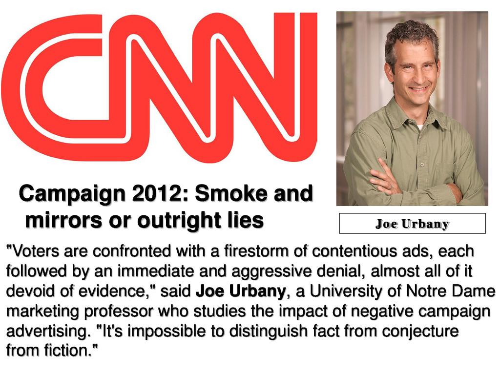 Campaign 2012: Smoke and mirrors or outright li...