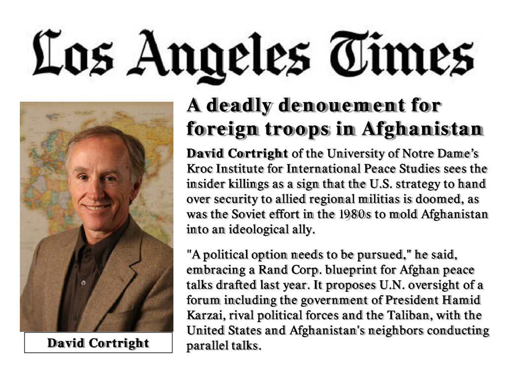 A deadly denouement for foreign troops in Afgha...