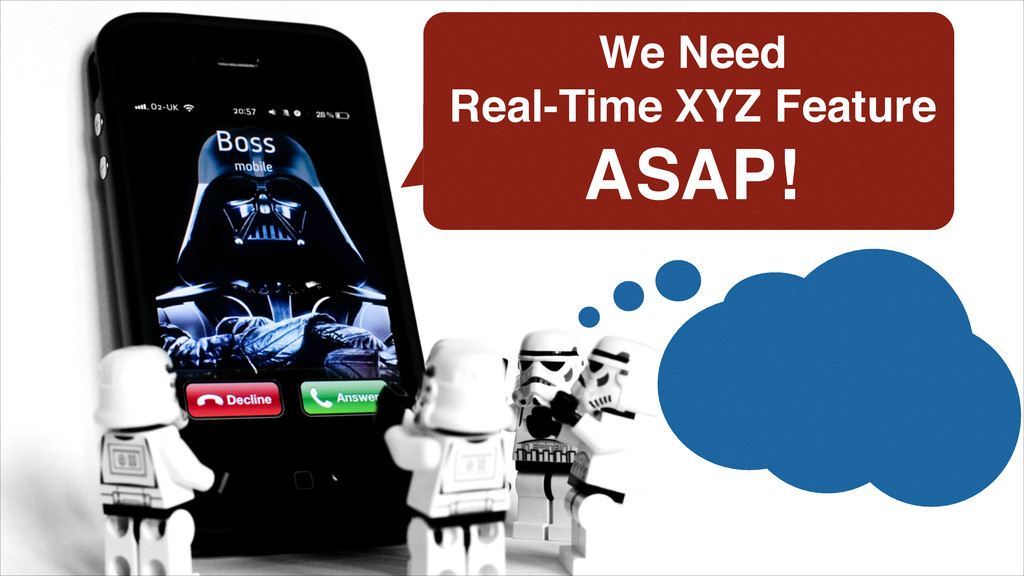 We Need ! Real-Time XYZ Feature! ASAP!