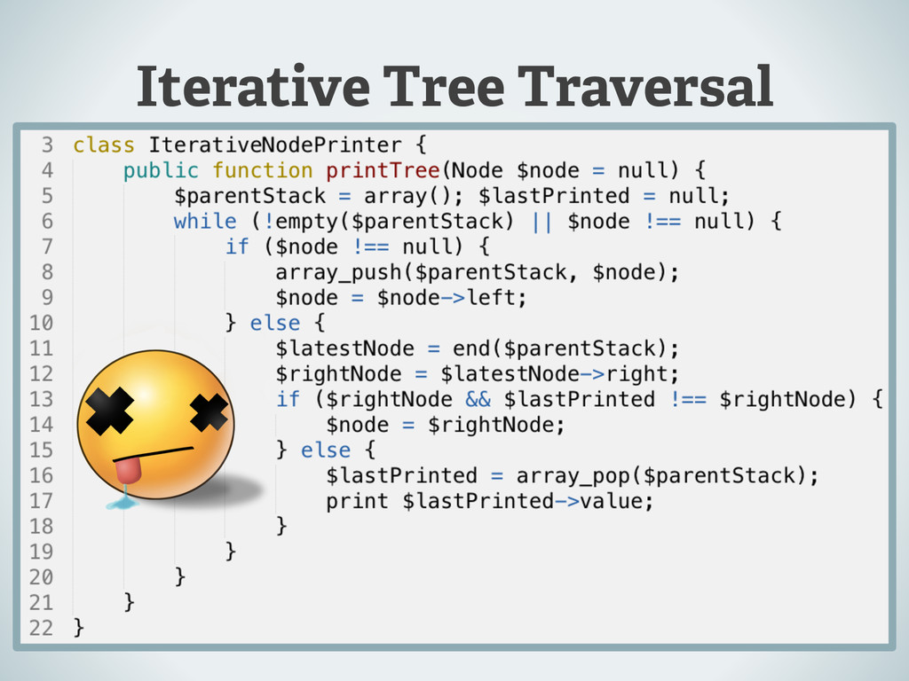Iterative Tree Traversal