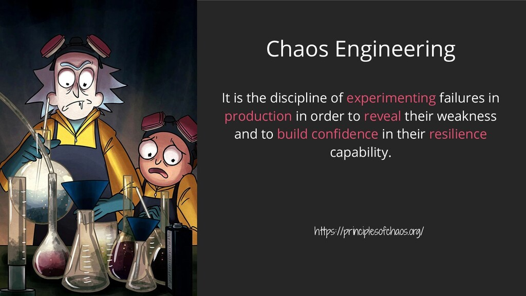 Chaos Engineering It is the discipline of exper...