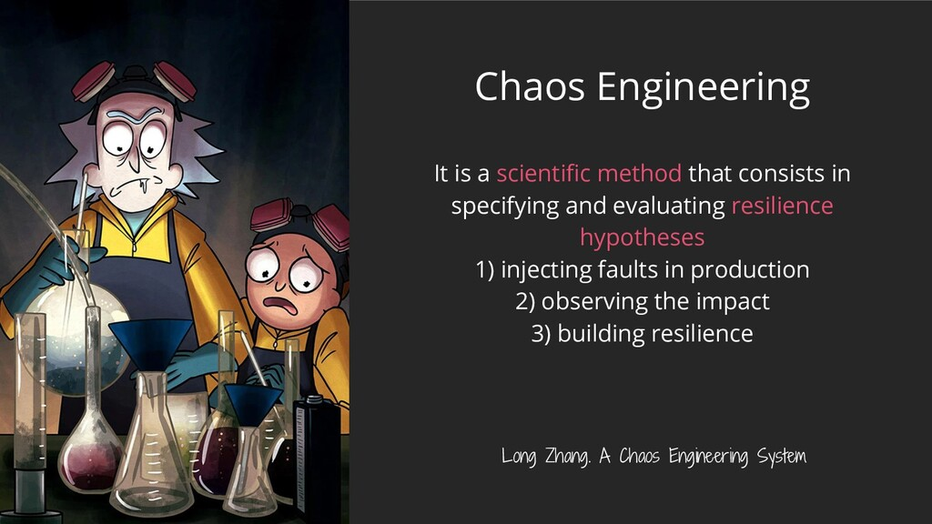 Chaos Engineering It is a scientific method that...
