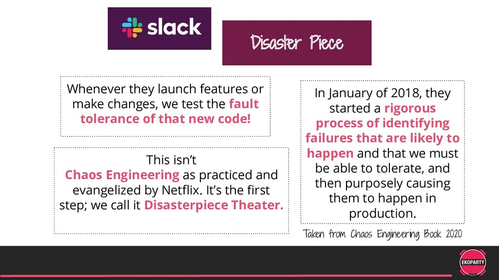Disaster Piece Whenever they launch features or...