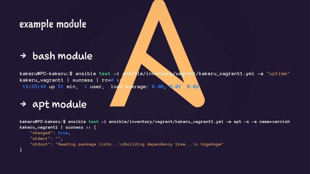 example module 4 bash module kakeru@PC-kakeru:$...