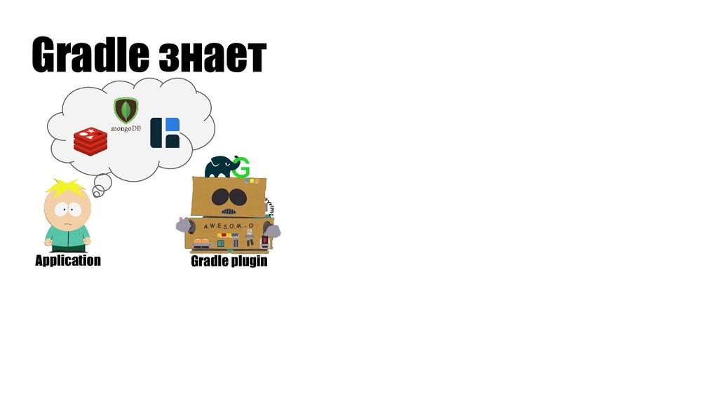 Gradle знает Gradle plugin Application