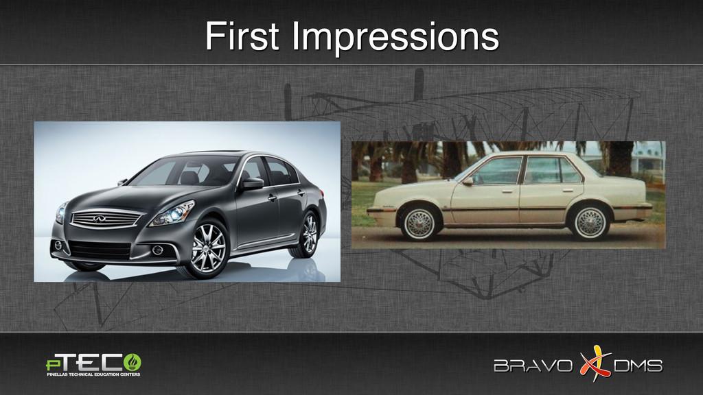 BRAVO DMS BRAVO DMS First Impressions