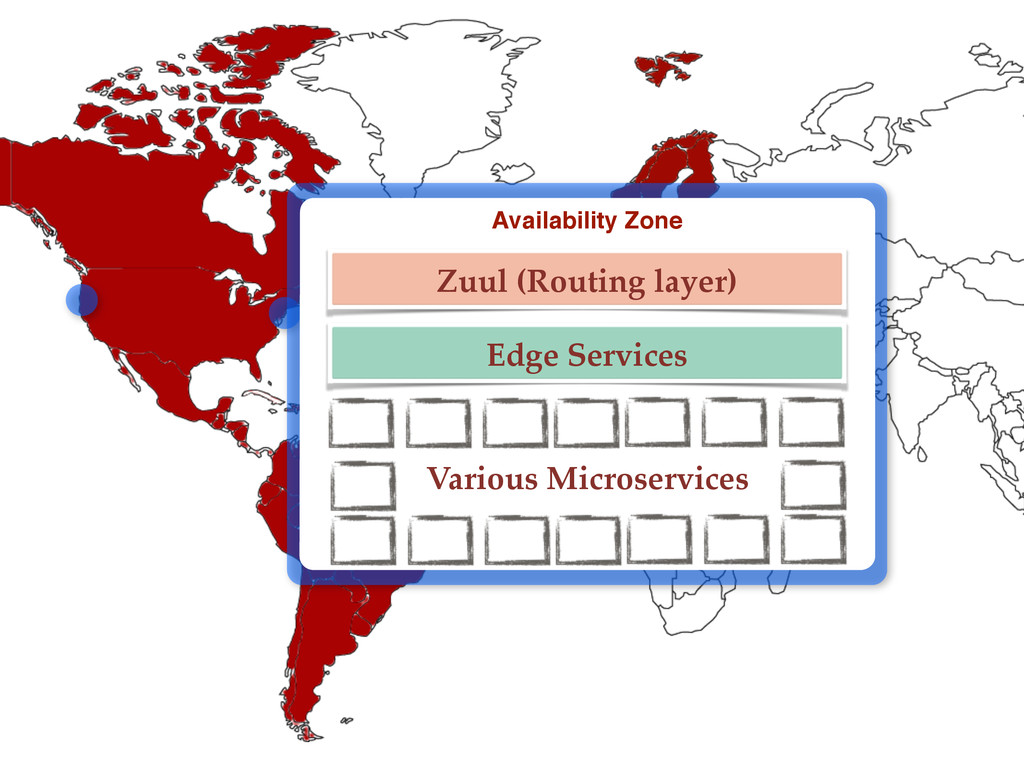 Availability Zone Zuul (Routing layer) Edge Ser...