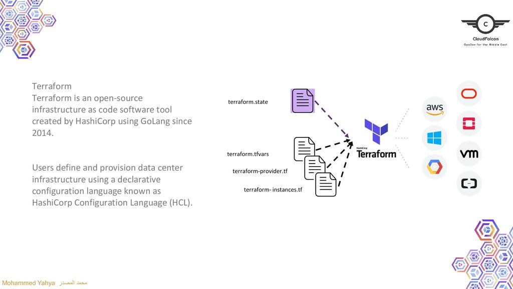 Terraform Terraform is an open-source infrastru...