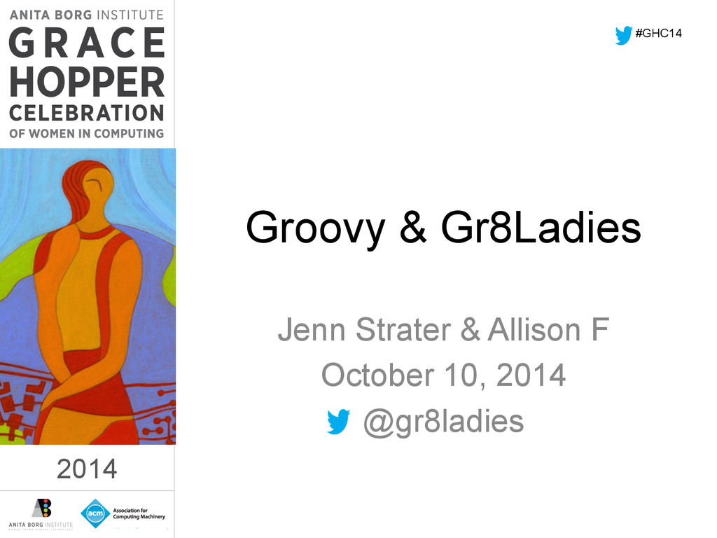 2014 Groovy & Gr8Ladies Jenn Strater & Allison ...