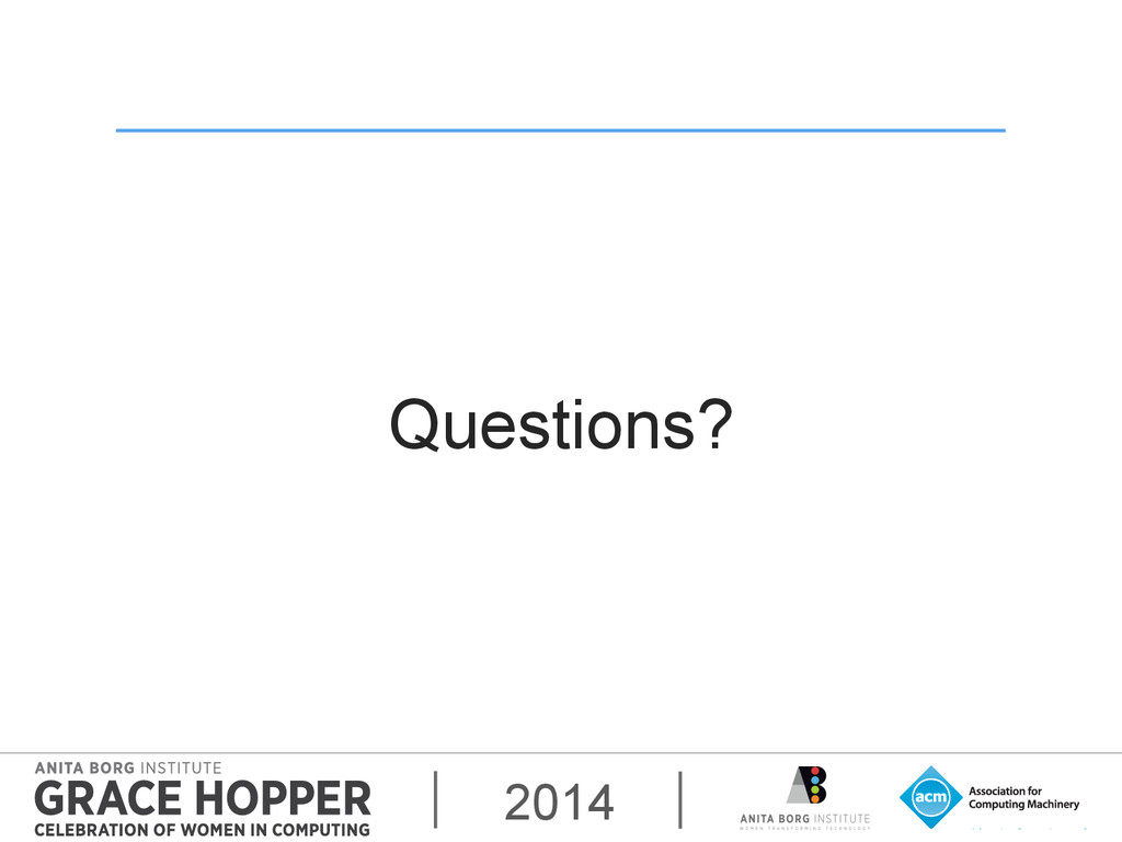 2014 Questions?