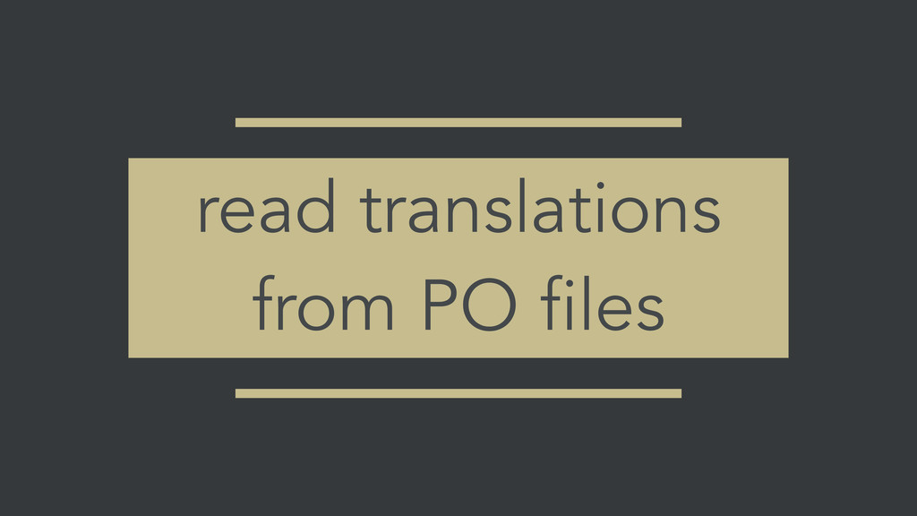 read translations from PO files