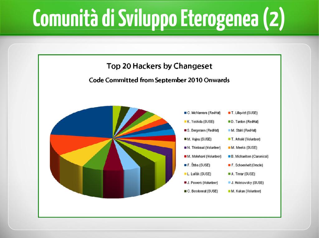 Comunità di Sviluppo Eterogenea (2)