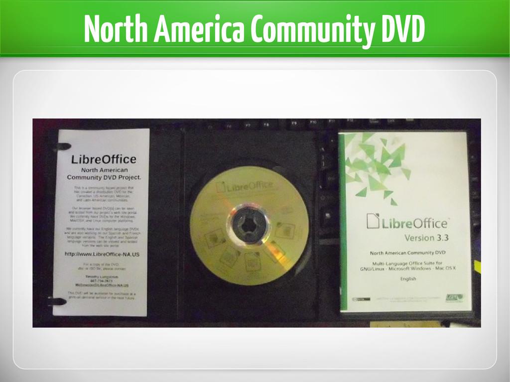 North America Community DVD