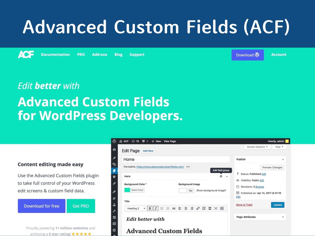 WordCamp Taipei 2019 Advanced Custom Fields (AC...