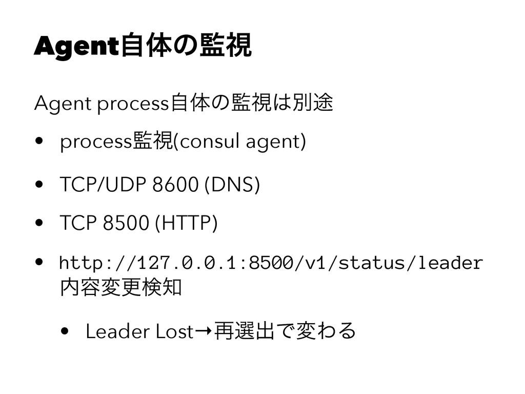 Agentࣗମͷࢹ Agent processࣗମͷࢹผ్ • processࢹ(co...