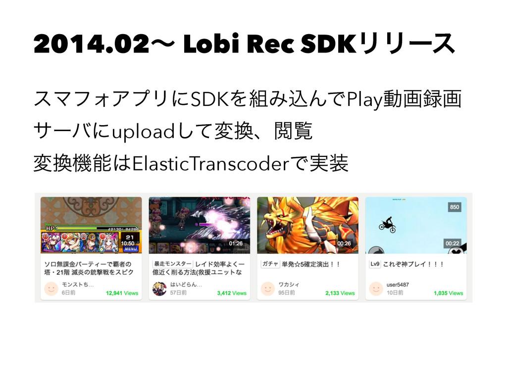 2014.02ʙ Lobi Rec SDKϦϦʔε εϚϑΥΞϓϦʹSDKΛΈࠐΜͰPlay...