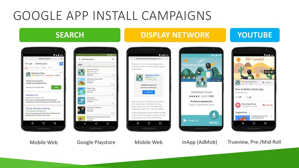 Mobile Web Google Playstore Mobile Web InApp (A...