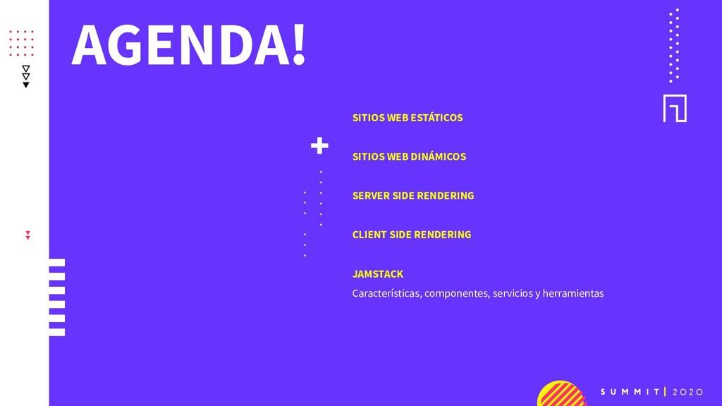 AGENDA! + . . . . . . . . . . . . SITIOS WEB ES...