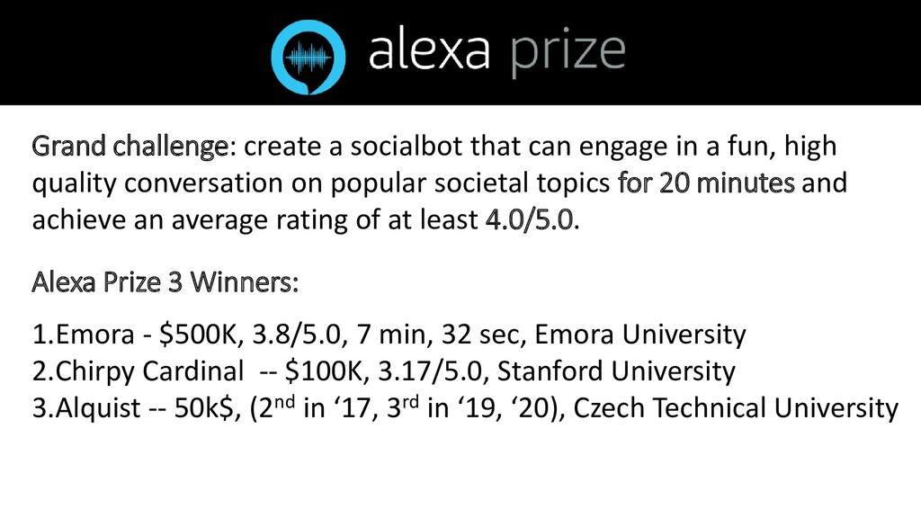 Grand challenge: create a socialbot that can en...