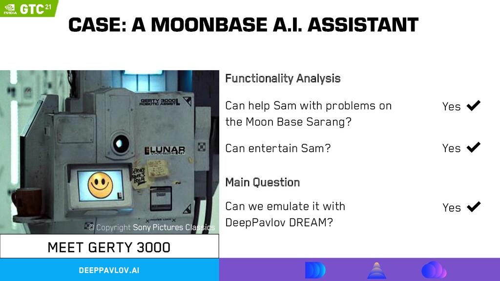 DeepPavlov.ai MEET GERTY 3000 Can help Sam with...