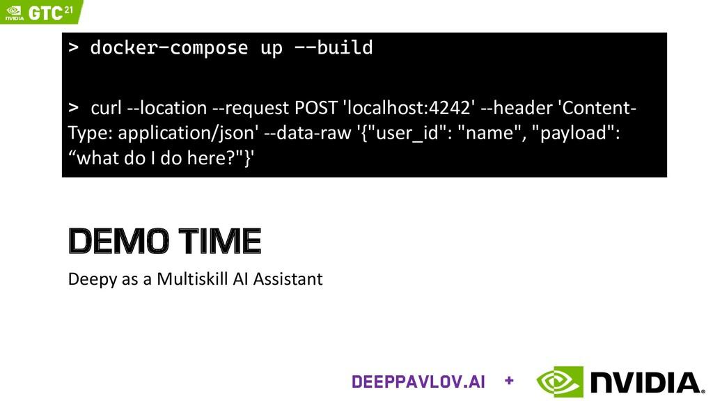 DEMO TIME Deepy as a Multiskill AI Assistant De...