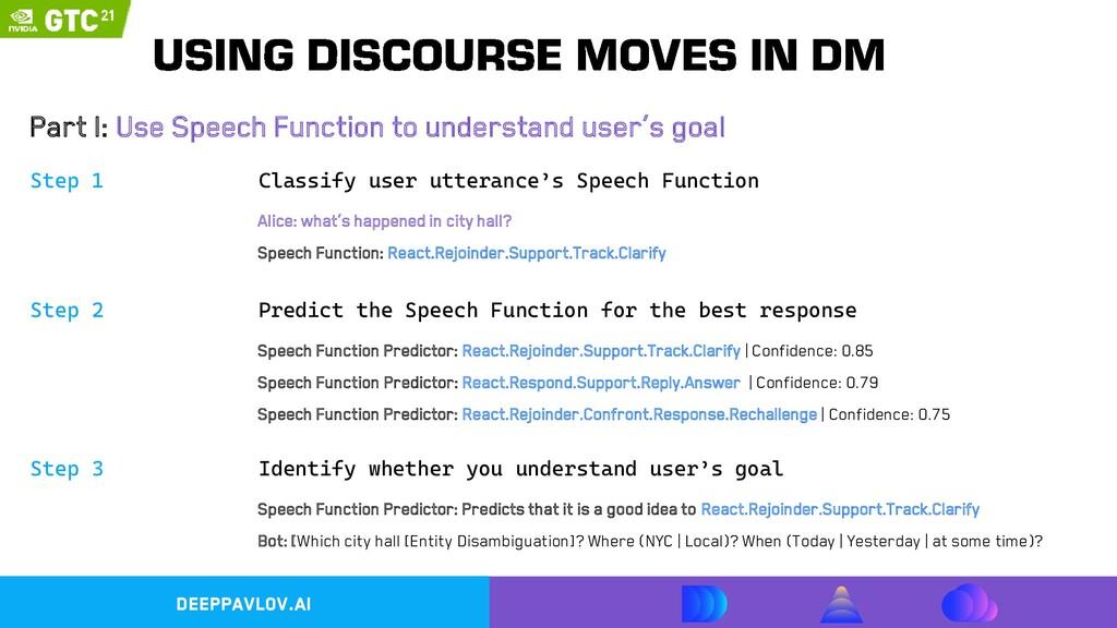DeepPavlov.ai Step 1 Part I: Use Speech Functio...