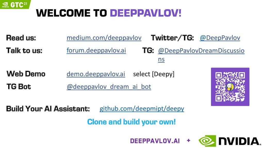 demo.deeppavlov.ai select [Deepy] Web Demo @dee...