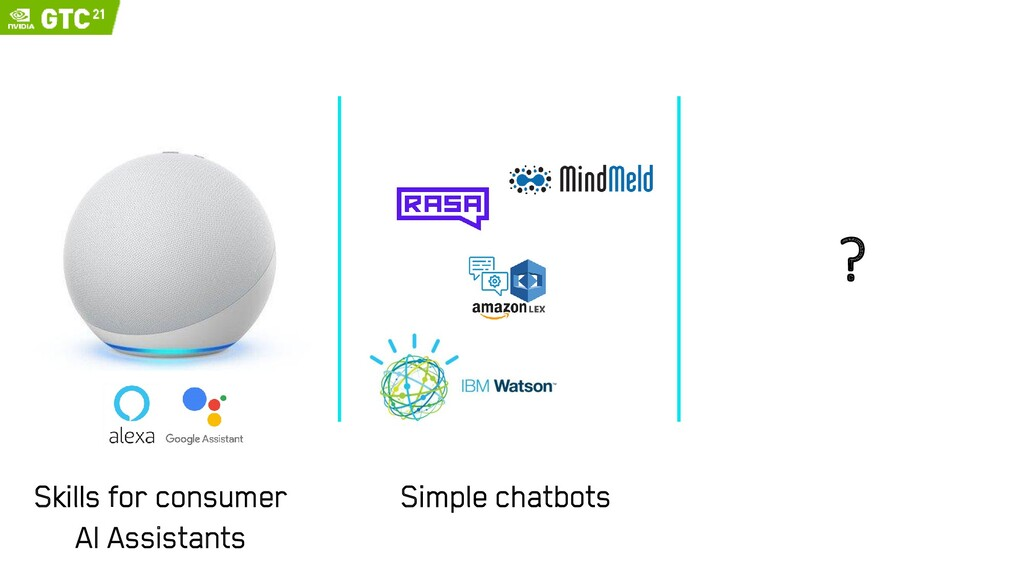 ? Simple chatbots Skills for consumer AI Assist...