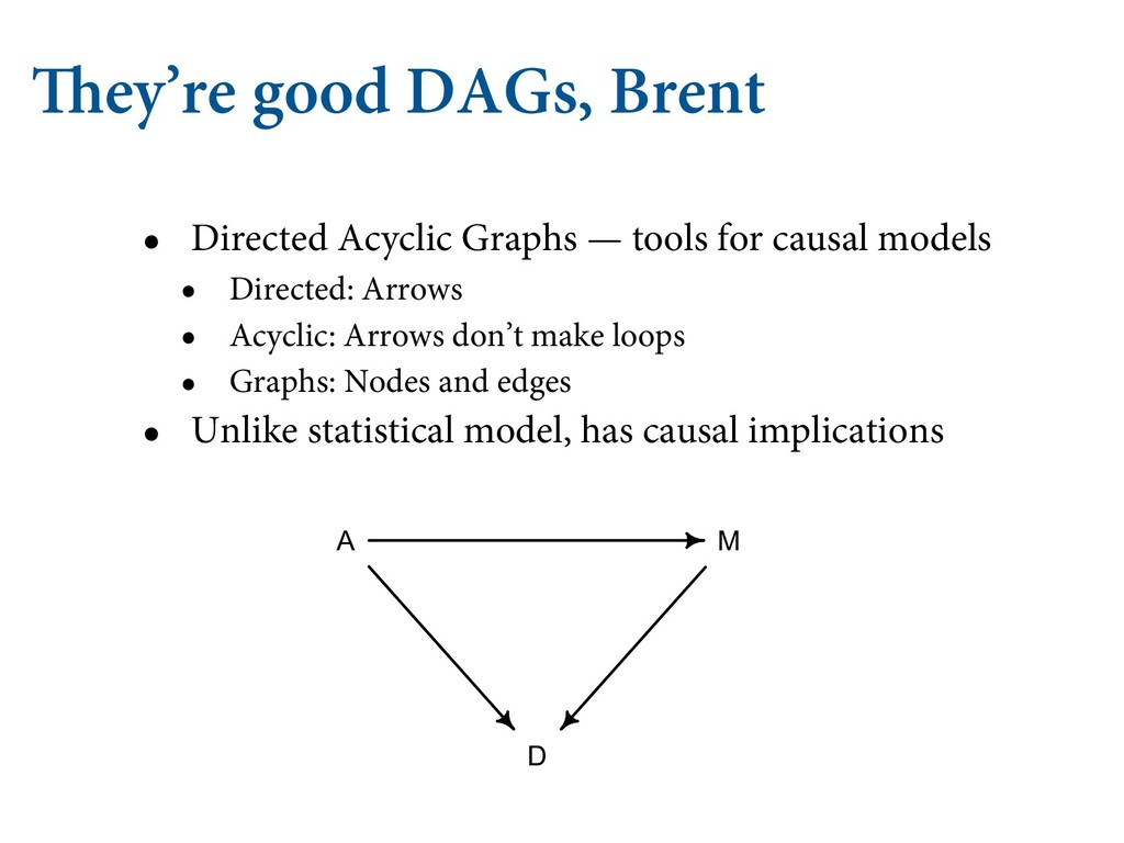 They're good DAGs, Brent • Directed Acyclic Gra...