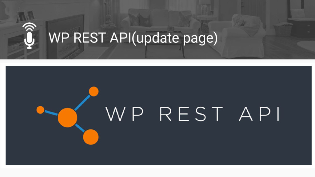 WP REST API(update page)