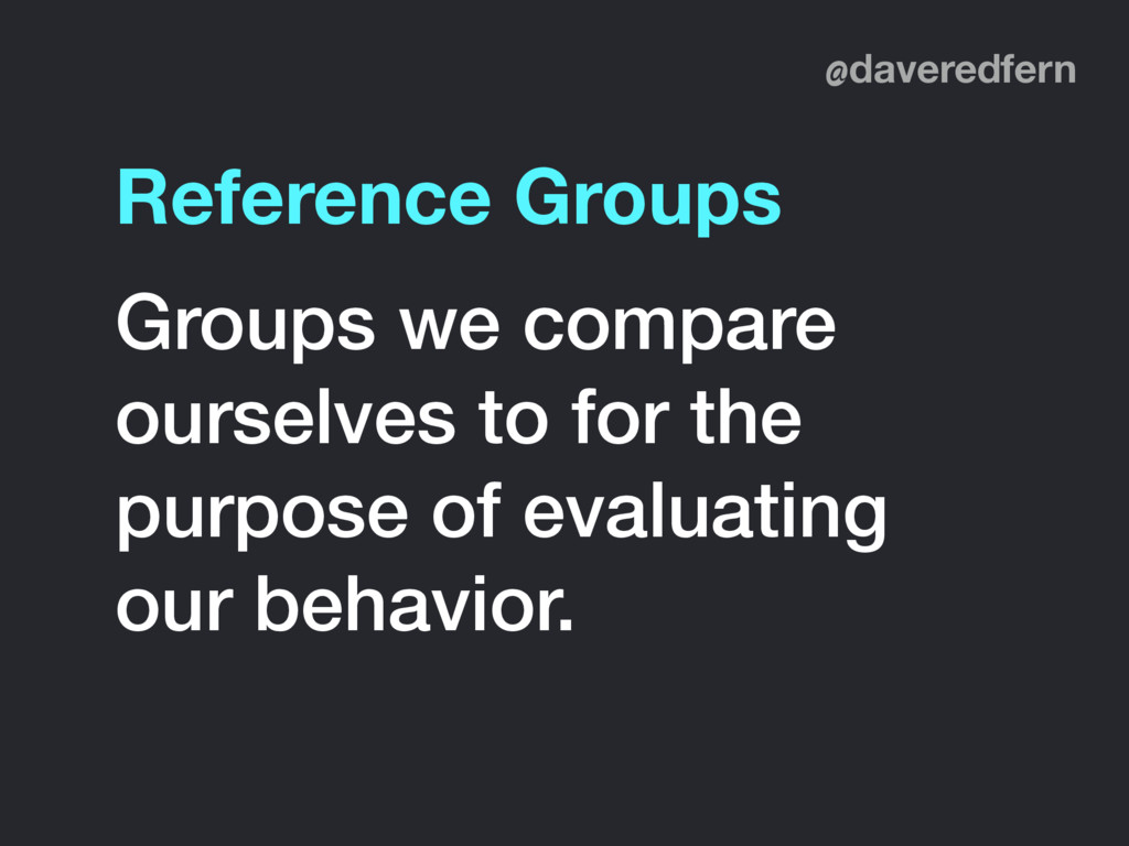 @daveredfern Groups we compare ourselves to for...