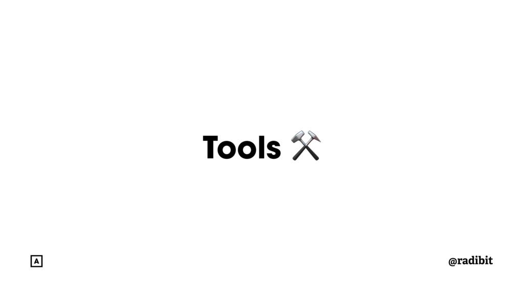 @radibit Tools ⚒