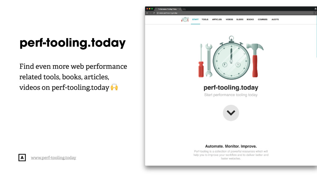 @radibit perf-tooling.today Find even more web ...