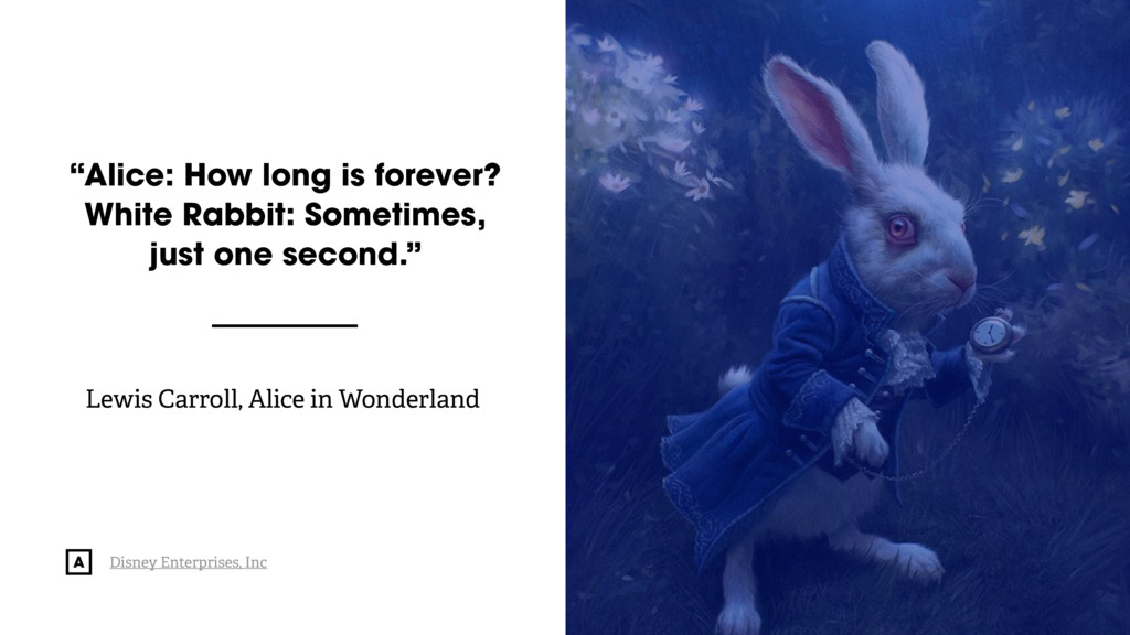 "@radibit ""Alice: How long is forever? 