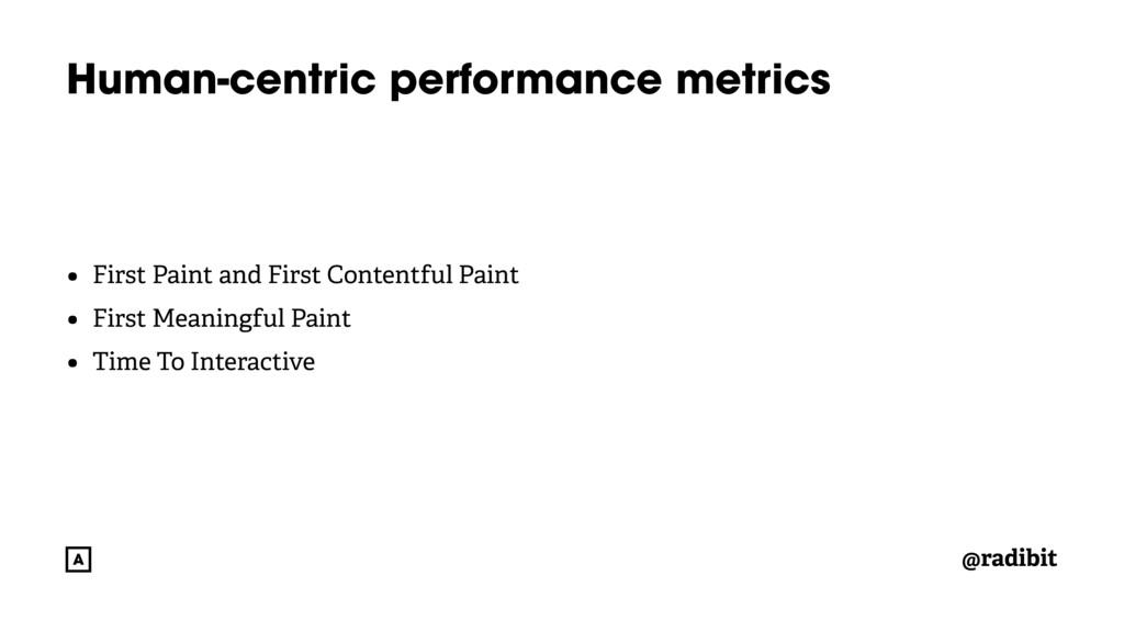 @radibit Human-centric performance metrics • Fi...