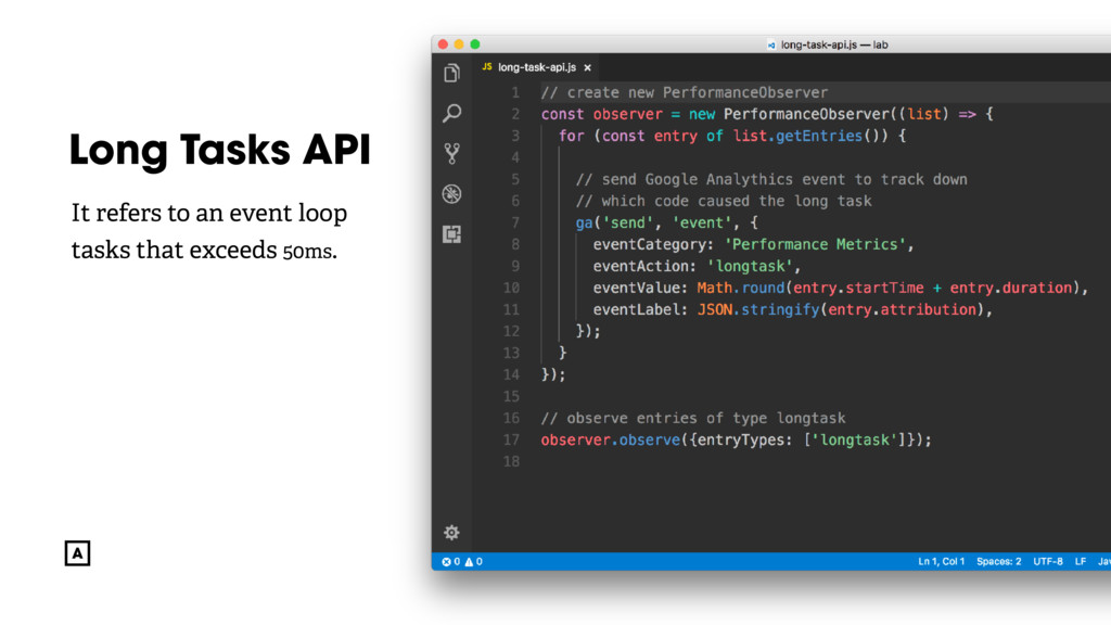 @radibit Long Tasks API It refers to an event l...