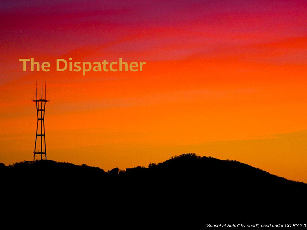 """The Dispatcher """"Sunset at Sutro"""" by ohad*, used..."""