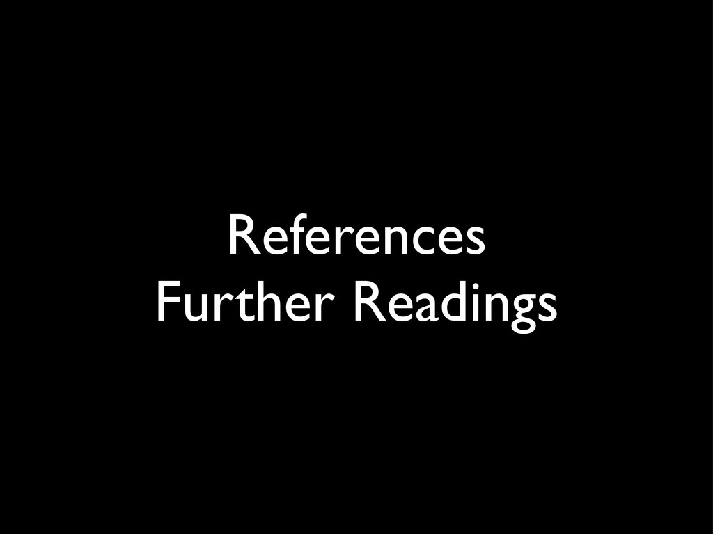 References Further Readings
