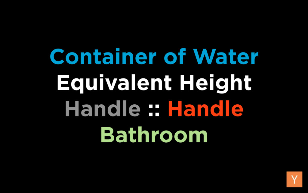Container of Water Equivalent Height Handle :...